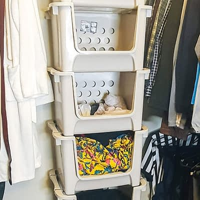 Laundry Bin Sorting System from Recycle Bins