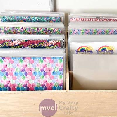 Craft Vinyl Storage – Ultimate New System!