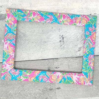 Custom Frame with Vinyl
