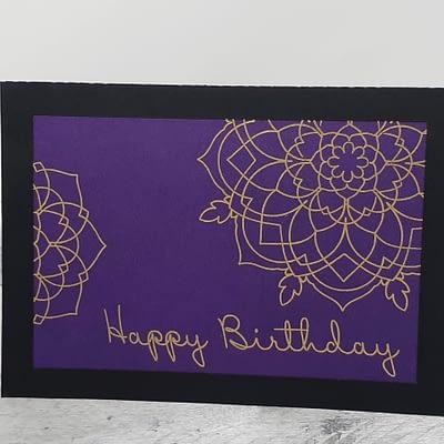 Foil Birthday Card