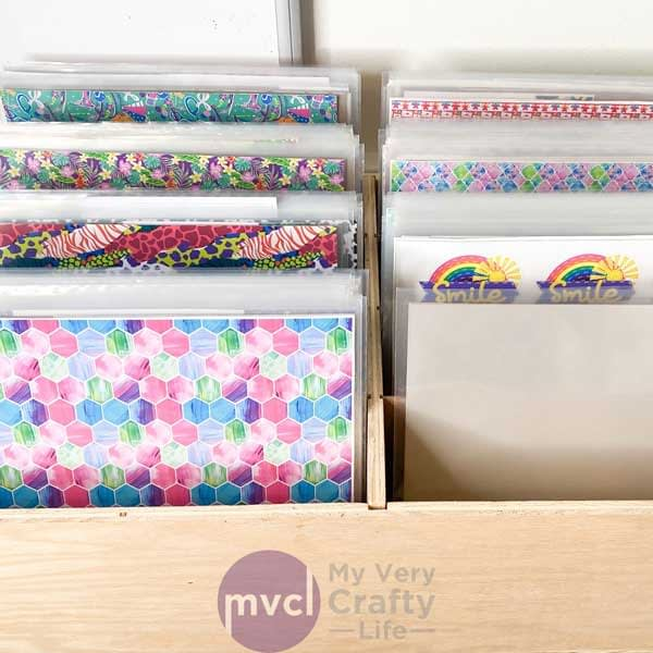 Craft Vinyl Storage – Ultimate New System!