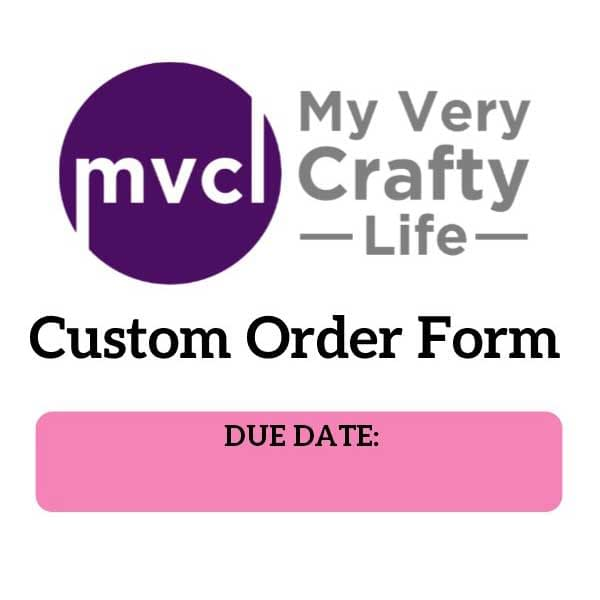 Internal Order Forms
